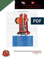 Ficha Técnica Hidrante Contra Incendios (1) PDF