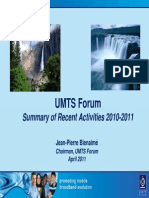 UMTS Forum Activity Report 2010-2011