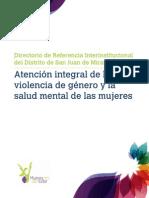 Directorio de Referencia Interinstitucional del Distrito de San Juan de Miraflores