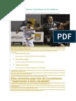 Resultado Do Jogo Santos x Corinthians Da 14ª Rodada Do Brasileirão 2014