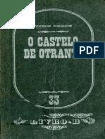 Horace Walpole - o Castelo de Otranto (Editorial Estampa, 1978)
