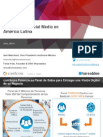 State of Social Media in Latin America Presentation 22JUL14