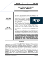 N-2619 Insp Vasos de Pressão