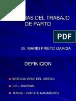 59112090 1 Trabajo de Parto Anormal Distocias Dr Prieto