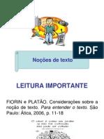 No+º+Áes de texto