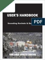 Esrange Users Handbook