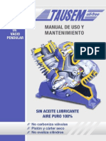 Manual Mantenimiento Compresor Tausem
