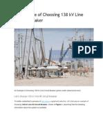 EJEMPLO DE APLICACION -ESCOJER  DISYUNTOR EN LINEA  138 kV.docx