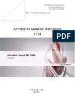 Apostila de AutoCad Mechanical 2014 1.1