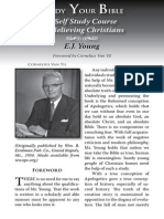 2009 Issue 1 - Study Your Bible - Counsel of Chalcedon