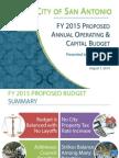FY2015 Proposed Budget Presentation