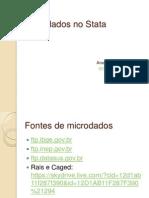 Microdados No Stata