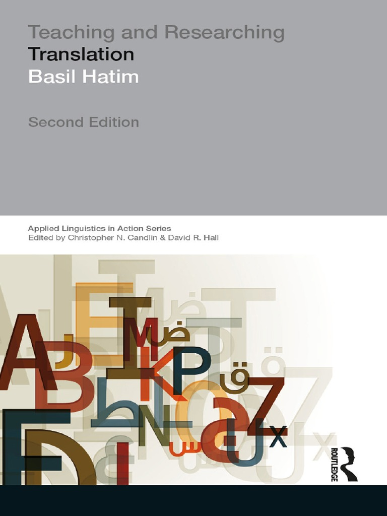 teaching and researching translation basil hatim | reflective