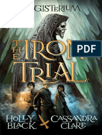 The Iron Trial by Holly Black and Cassandra Clare EXCERPT