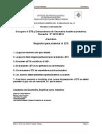 Guia ETS y Extraordinario Analitica TM
