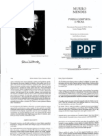 MENDES, Murilo. Alberto Giacometti in Poesia Completa e Prosa