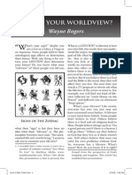 2009 Issue 3 - What's Your Worldview? - Counsel of Chalcedon
