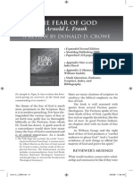 2009 Issue 4 - The Fear of God Book Review - Counsel of Chalcedon