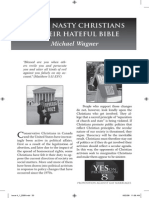 2009 Issue 4 - Those Nasty Christians - Counsel of Chalcedon