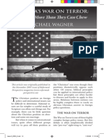 2009 Issue 5 - America's War on Terror - Counsel of Chalcedon