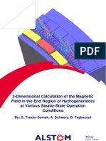 3_dimensional Calculation of the Magnetic Field in the End Hydrdogenerators