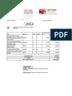 Offre DV.36.14 Du 04.08.2014 Télésurveillance Villa Nassim