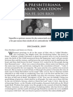 "2010 Issue 2 - Iglesia Presbiteriana Reformada ""Calcedon"" - Counsel of Chalcedon"