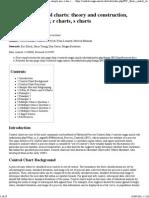 Quality Control, Basic Control Charts