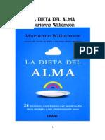 88321757 Marianne Williamson La Dieta Del Alma