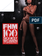 FHM Philippines 100 Sexiest Woman in the World 2007