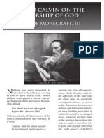 2010 Issue 3 - John Calvin on the Worship of God - Counsel of Chalcedon