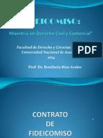FIDEICOMISO Dr. Rios Avalos-2014