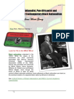 Lesson From the Honorable Marcus Mosiah Garvey
