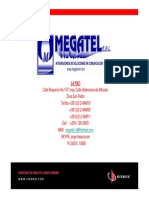 Longevidad de Cable Estructurado SIEMON CAT 6A_MEGATEL 2012