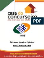 Apostila INSS.recife2014 EticaNoServicoPublico PedroKuhn 1