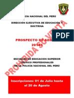 Prospecto Admision ETS 2014 I