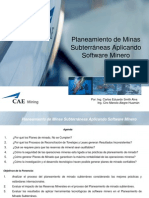 Planeamiento de Minas Subterraneas