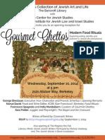 Gourmet Ghettos Opening Invitation