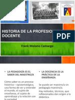 Historia y Epistemología de La Pedagogia y La Docencia