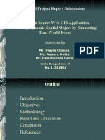 Web GIS Application using open Source softwares