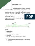 Ejemplo Resuelto Del Metodo de Las Fuerzas_ Vigas