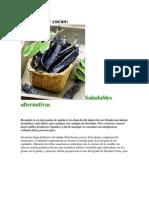 Algarroba y Cacao