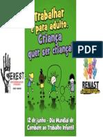 Trabalho Infantil Logo