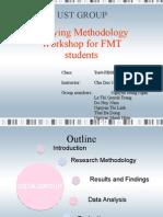Studying Methodology Workshop for FMT Students