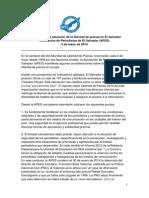 Informe Libertadprensa 3mayo 2014 APES