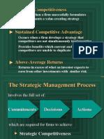 Strategic Management - IO & Resourse Model