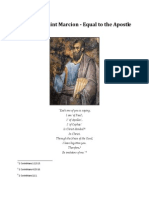 The Life of Saint Marcion-Equal to the Apostle