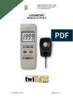 Luxometro Manual