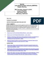 MPRWA Agenda Packet 08-14-14