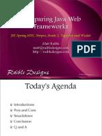 ComparingJavaWebFrameworks-ApacheConUS2007